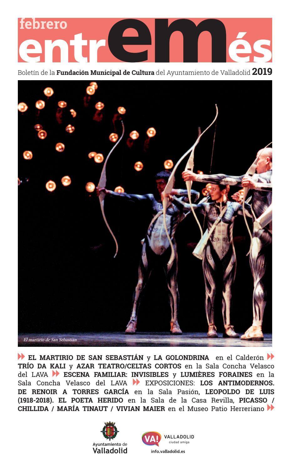 Entremés Valladolid febrero 2019 by cultura-turismo-valladolid - issuu 8ba96ebf7a6d