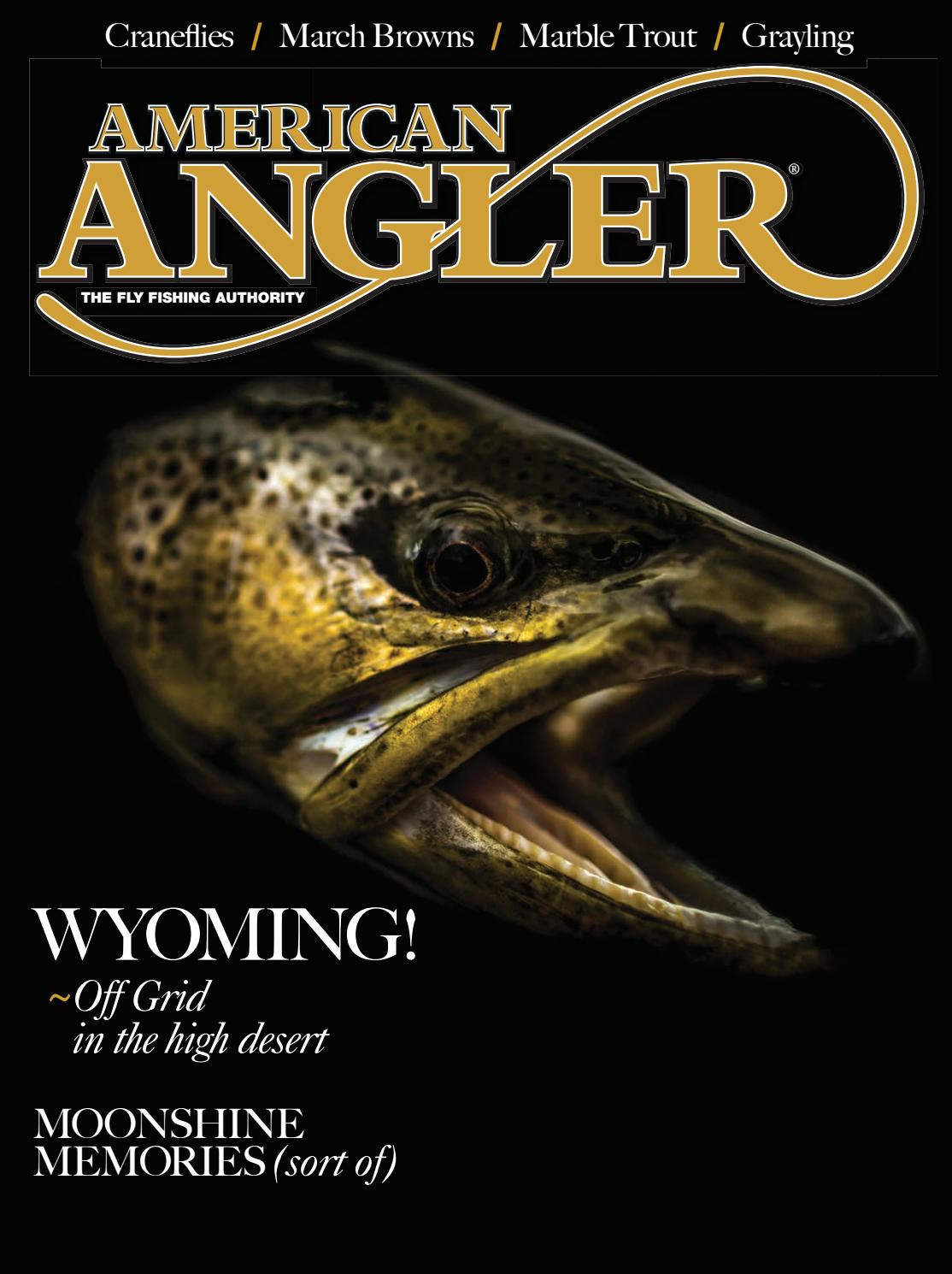 American Angler March April 2019 Edition By Cowboy Publishing Group Issuu Whether you are a wading angler or a float fisherman, we hope this website will help guide you around the arkansas river and the surrounding fisheries as you recreate responsibly and enjoy the many outstanding outoor resources in the valley. american angler march april 2019