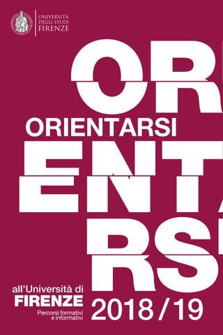 Calendario Tesi Unifi Architettura.Orientarsi All Universita Di Firenze By Unifi Comunicazione