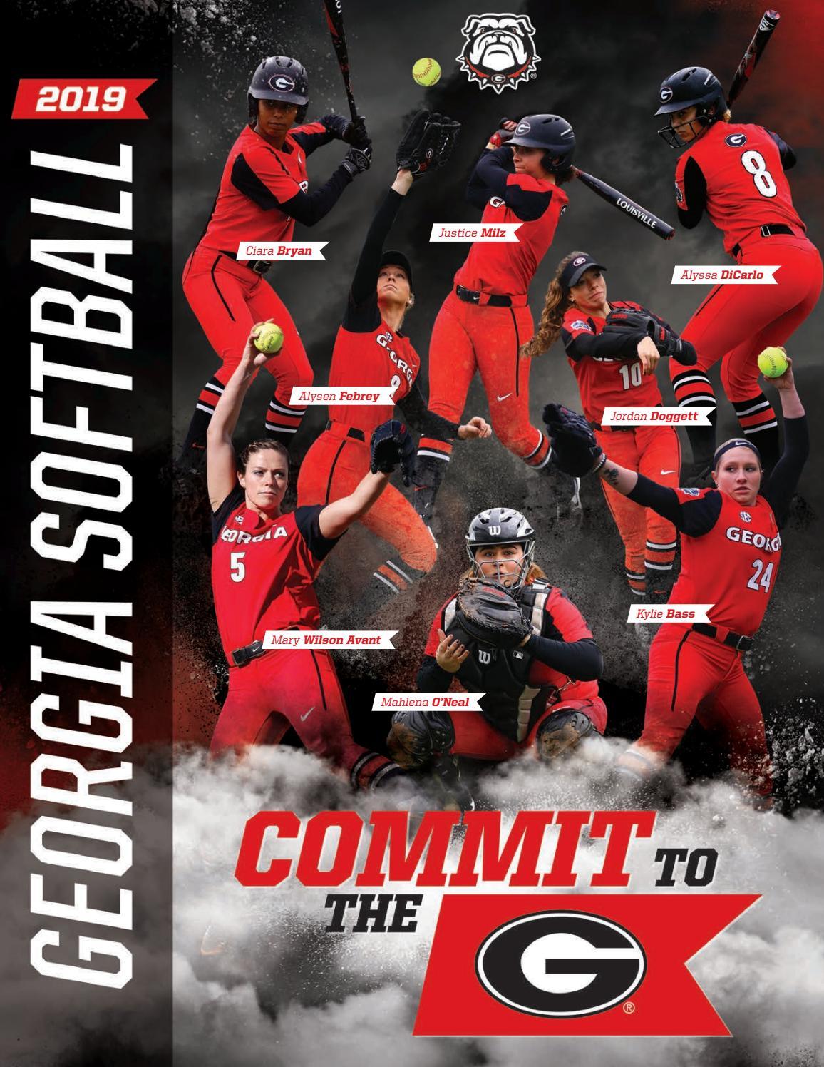 2019 Georgia Softball Media Guide by Georgia Bulldogs