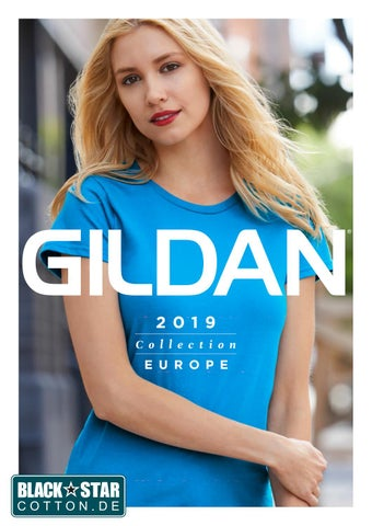 6e118413c15 2019 gildan europe catalogue by Black Star T-Shirt print - issuu