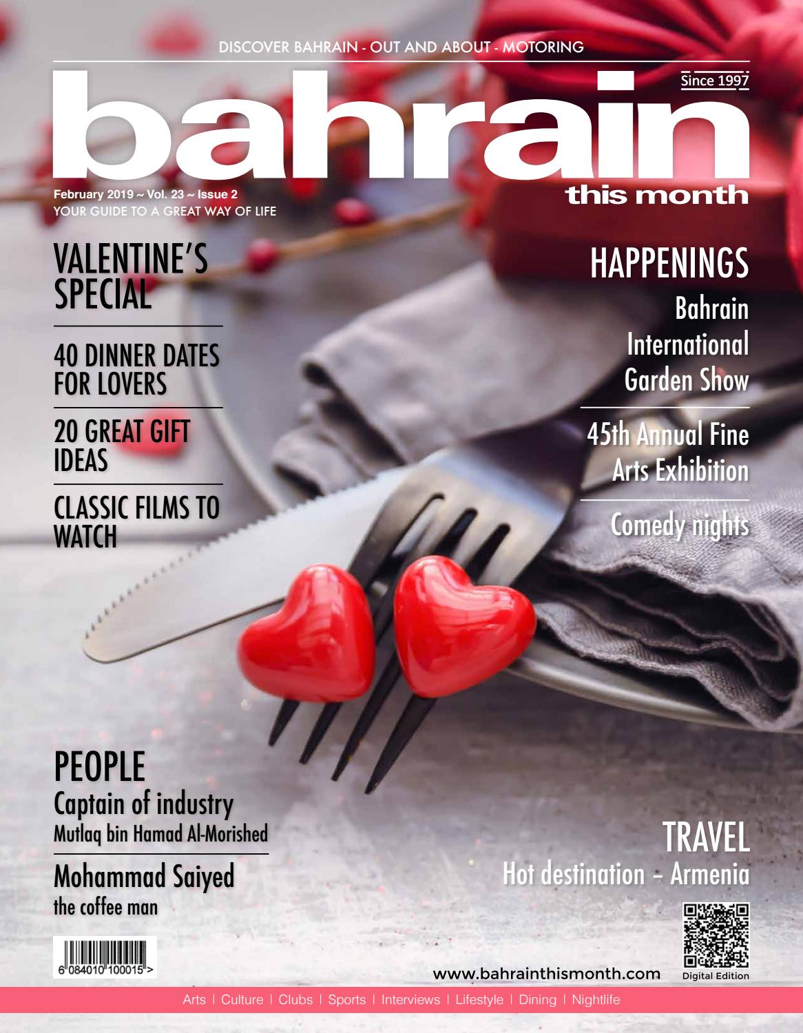 446695eb28823 Bahrain This Month - February 2019 by Red House Marketing - issuu