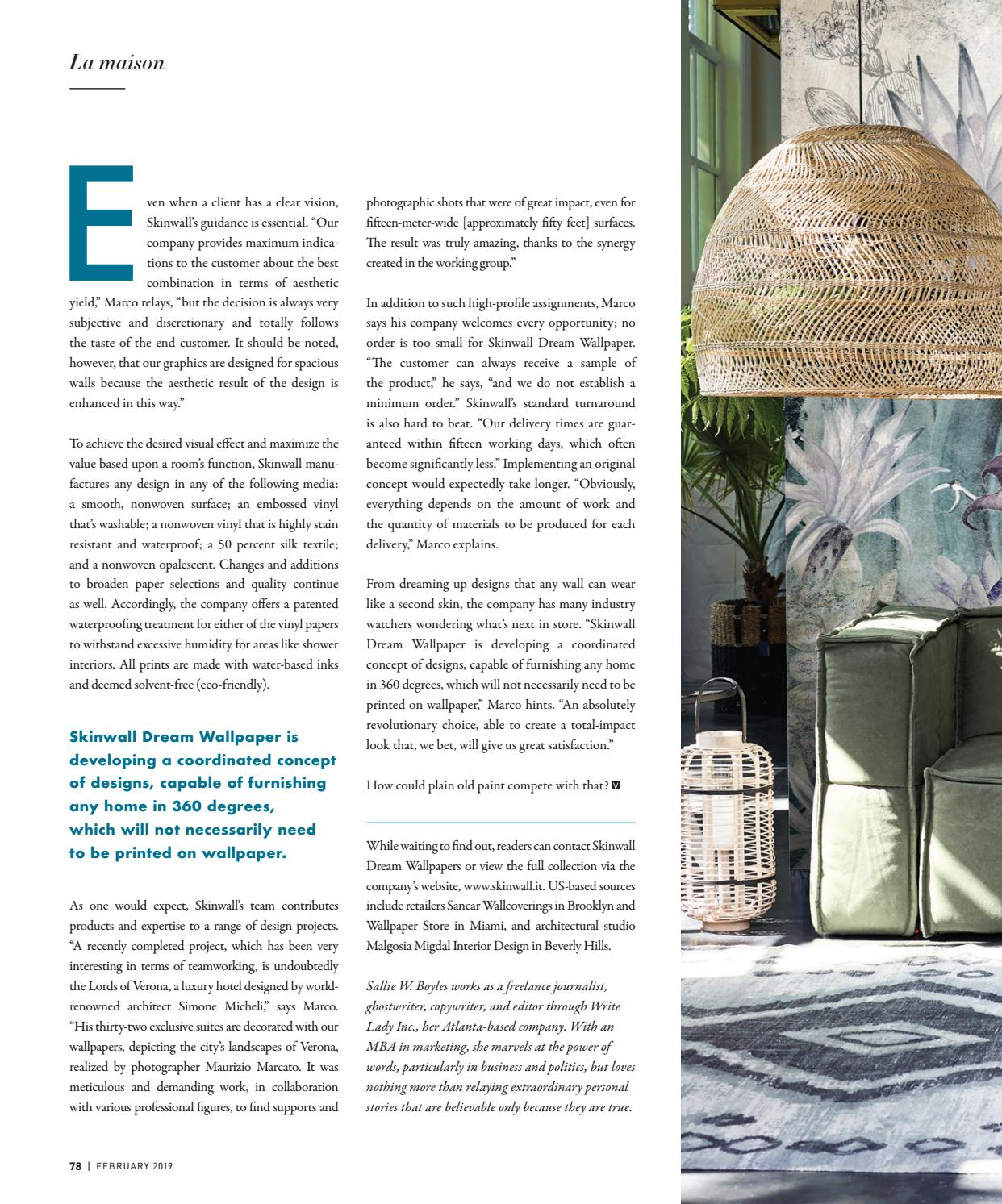 Elongate Pointed Ovals Beige Cream Gold Wallpaper Source · VIE Magazine February 2019 by The Idea Boutique issuu