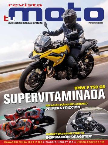 83dd64cc190 Revista Tu Moto número 67.Mes de octubre de 2018. by Revista Tu moto ...