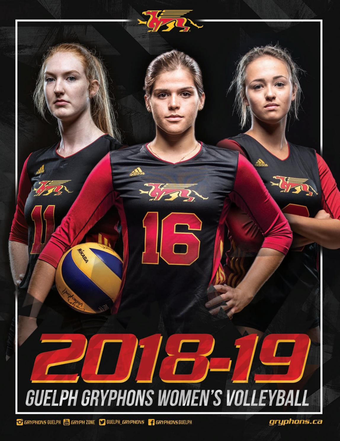 2018 19 Guelph Gryphons Women S Volleyball Program By Guelphgryphons Issuu