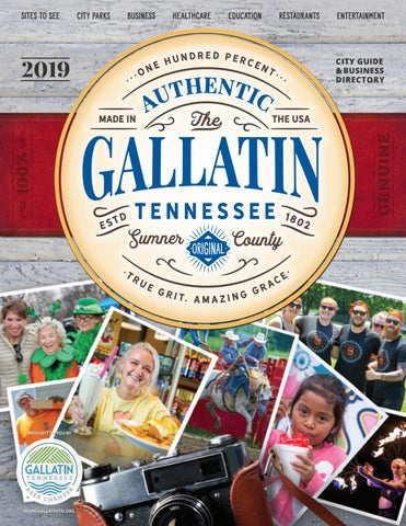 2019 Gallatin City Guide By