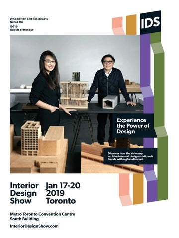 Interior Design Show Guide 2019 By Iq Business Media Issuu