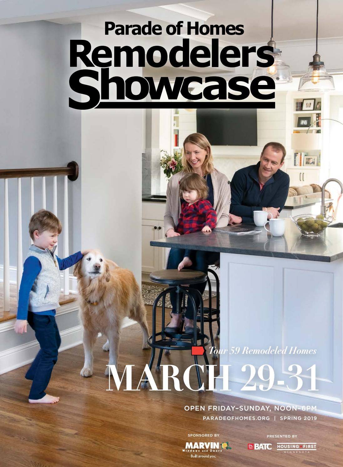2019 Spring Parade of Homes Remodelers Showcase® Guidebook by BATC