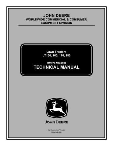 JOHN DEERE LT150 LAWN GARDEN TRACTOR Service Repair Manual by 163114103 -  issuuJOHN DEERE LT150 LAWN GARDEN TRACTOR Service Repair Manual by 163114103 -  issuu