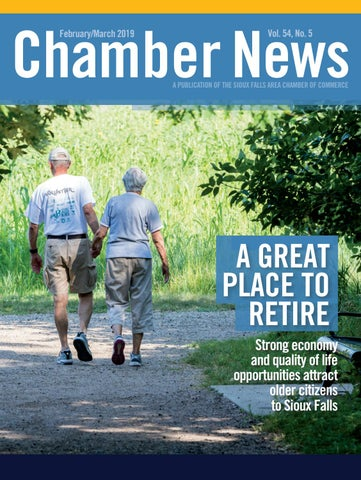 February/March 2019 Chamber News by Sioux Falls Area Chamber