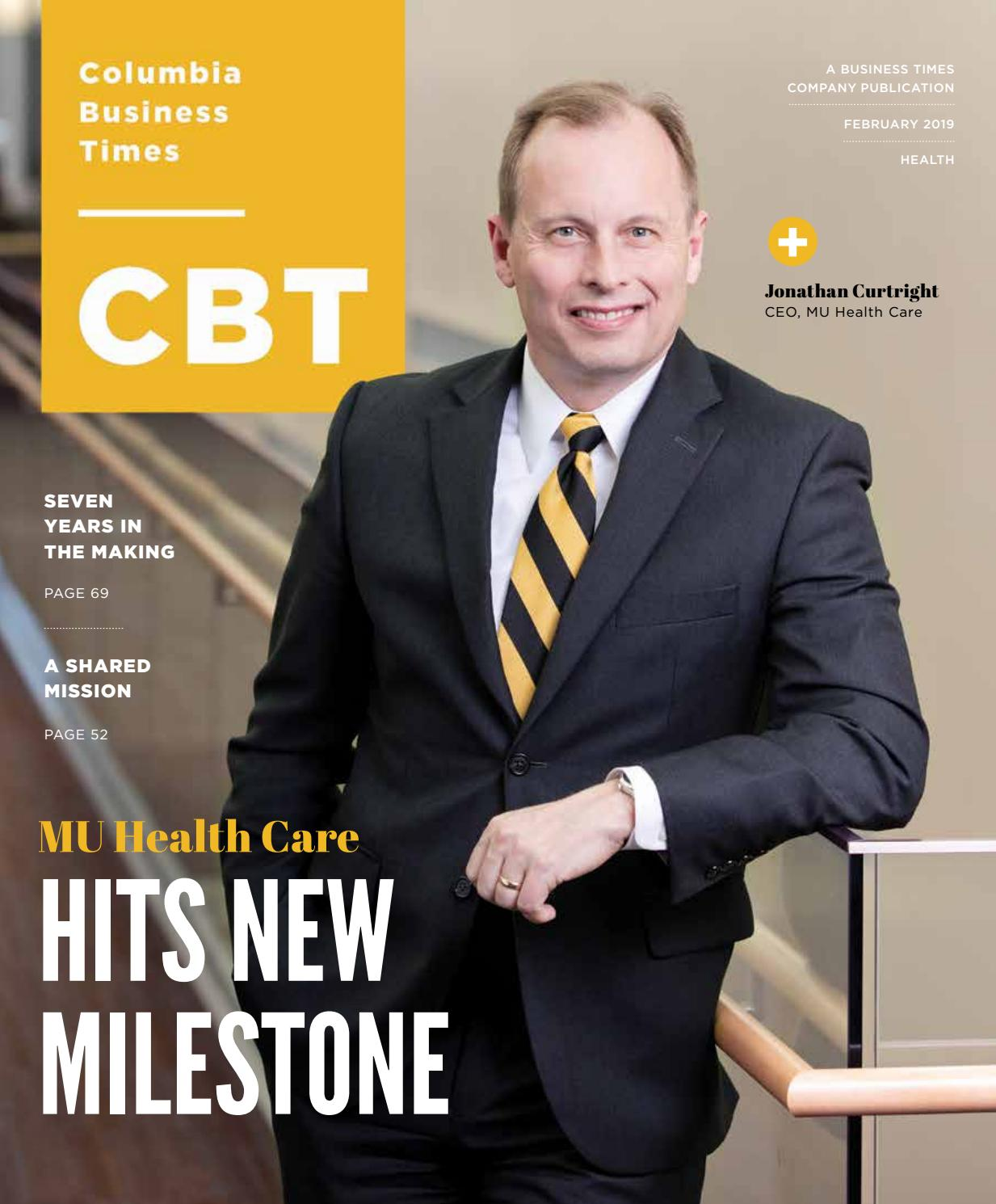 73f9ae8149 Columbia Business Times February 2019 by Business Times Company - issuu