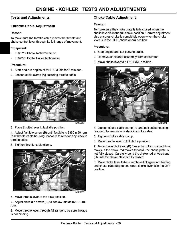 JOHN DEERE LX279 LAWN GARDEN TRACTOR Service Repair Manual