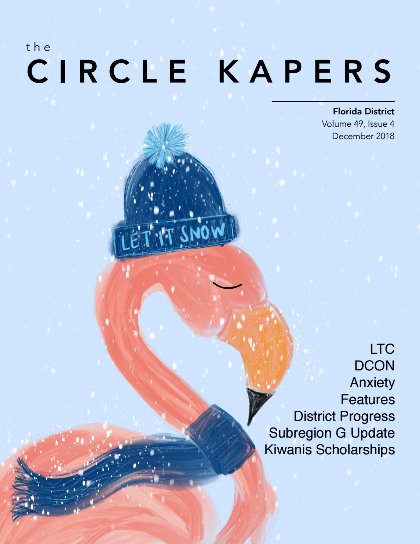 Florida CKI: The Circle Kapers December 2018 (Volume 49