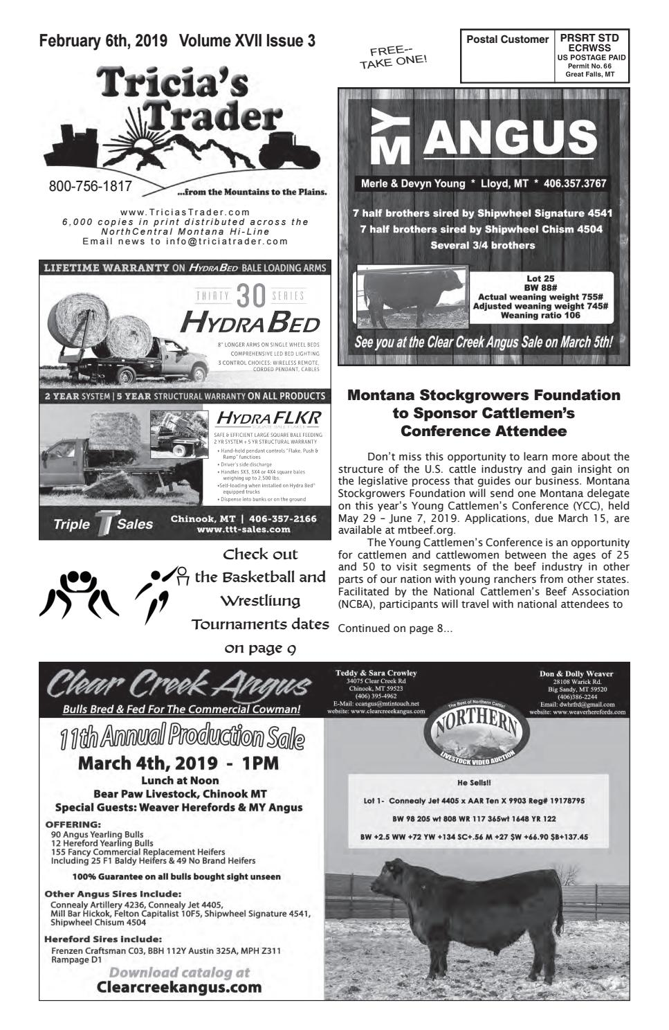 Ravalli County Fair 2020.February 6th 2019 By Tricia S Trader Issuu