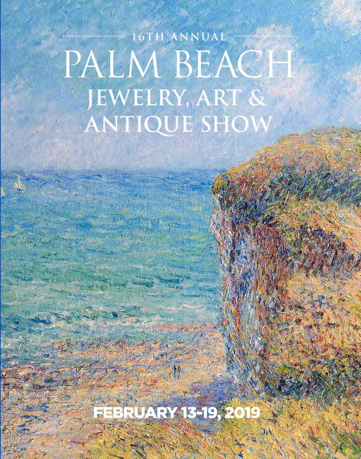 Palm Beach Show Jewelry Art Antique 2019 By