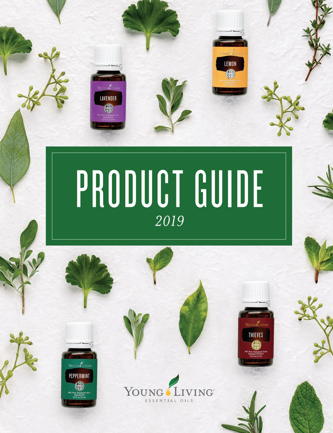2019 Product Guide U S By Young Living Essential Oils Issuu