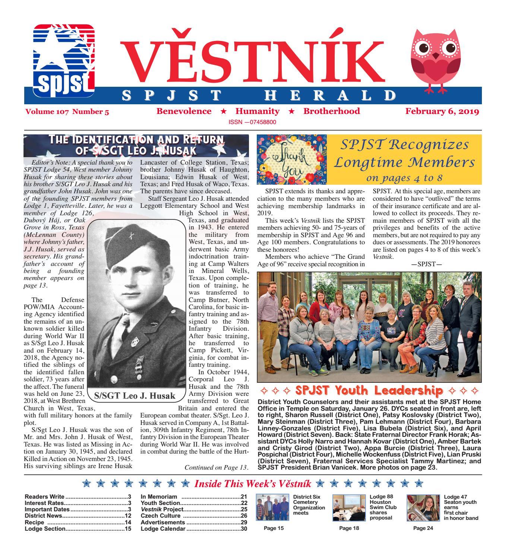 Vestnik 2019 02 06 by SPJST - issuu