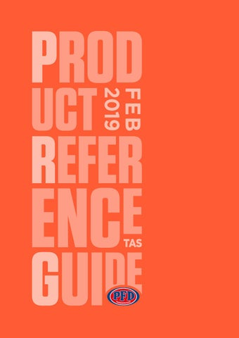 Product Reference Guide- Tasmania Feb 2019 by PFD Food Services - issuu