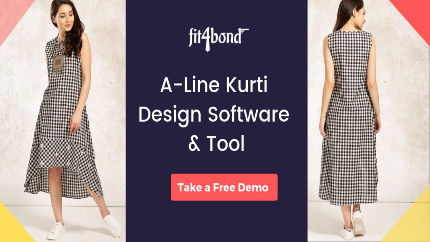 Complete A Line Kurti Design Software By Angel Issuu