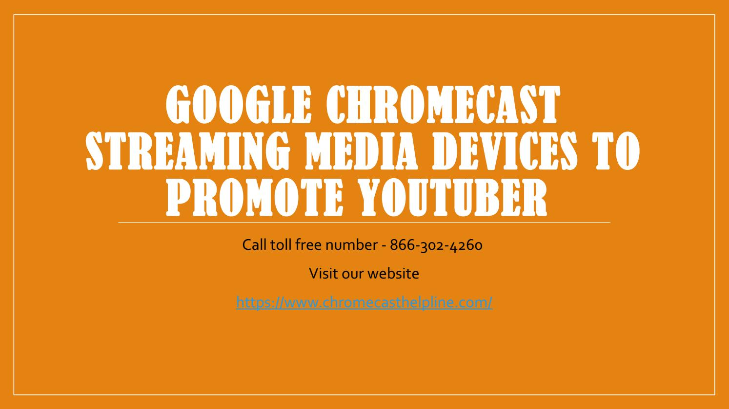 Google Chromecast Streaming Media Devices To Promote