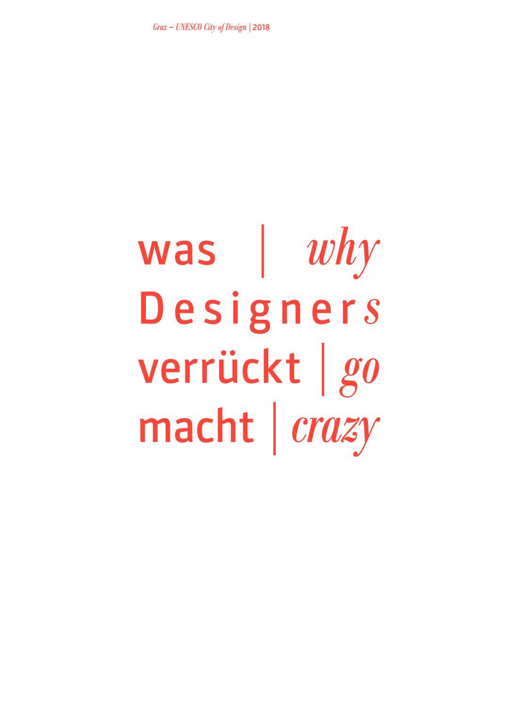 Was Designer verrückt macht Why designers go crazy by FH