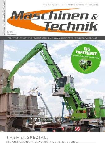 Maschinen Technik Februar 2019 By Tb Verlag Issuu