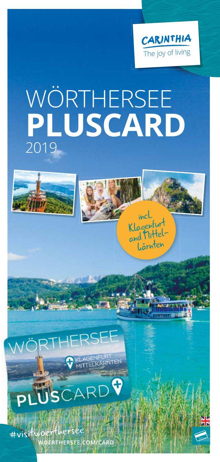 Woerthersee PLUSCARD | summer 2019 by Visit Wörthersee - issuu