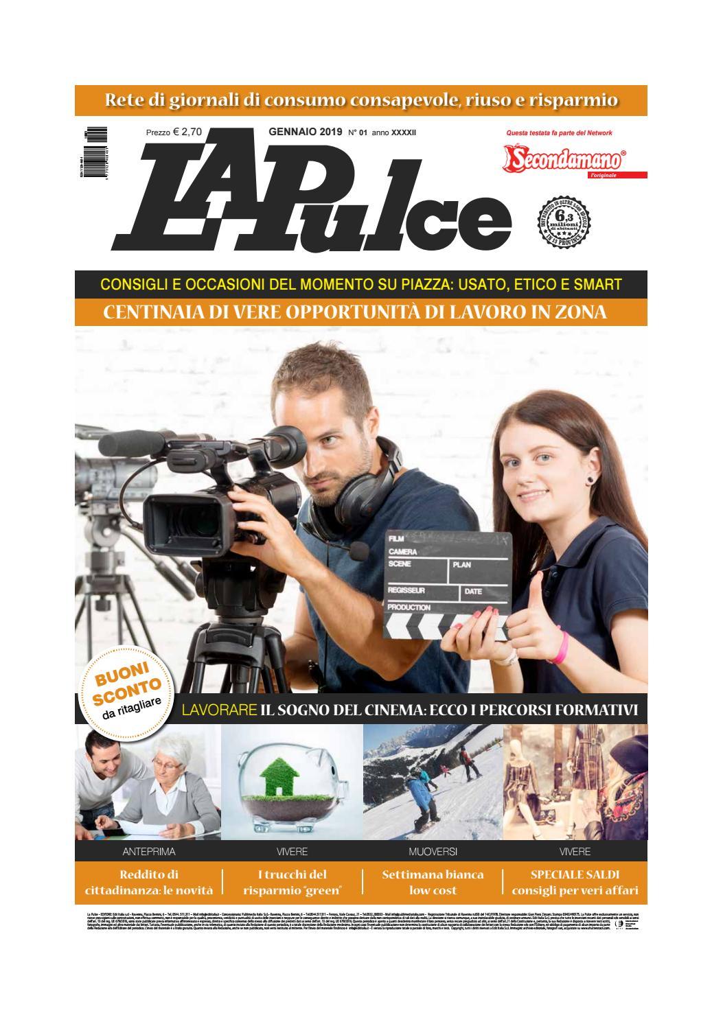 La Pulce gennaio 2019 by Edit Italia S.r.l. - issuu 259e229278f