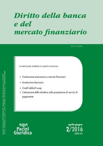 148883651a Diritto della banca e del mercato finanziario 2/2016 by Pacini ...