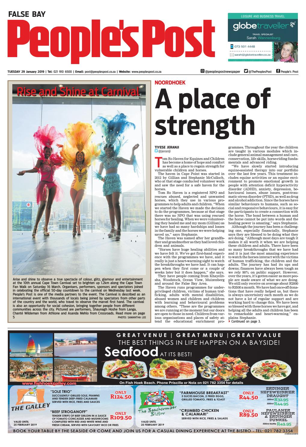 People's Post False Bay- 29 January 2019 by People's Post