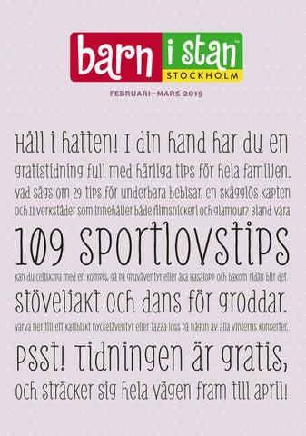 30cf70b8e071 Barn i stans sportlovsnummer 2019 by Barn i stan & Welma - issuu