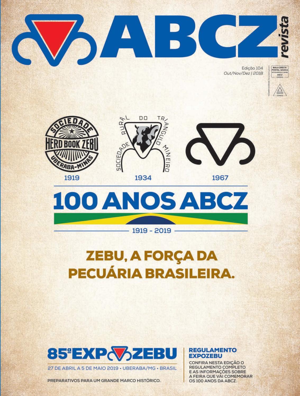 Revista ABCZ - Edição 104 - Outubro Novembro Dezembro by ABCZ - issuu 7966596ac290f