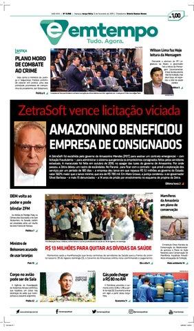 Em Tempo - 05 de Fevereiro de 2019 by Amazonas Em Tempo - issuu 5cdffb4d781cc