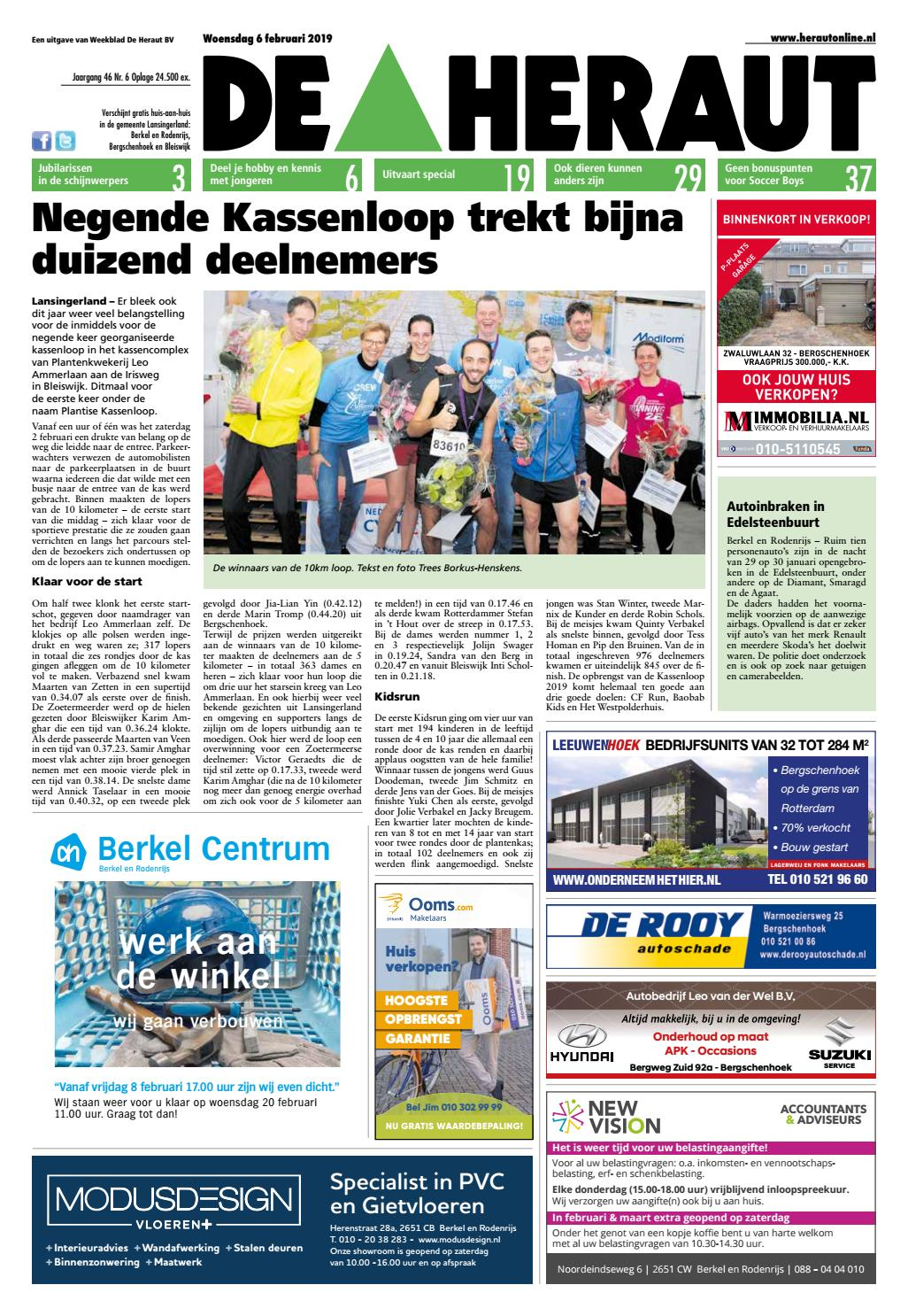 0aa3e32949c Heraut week 6 2019 by Nieuwsblad De Heraut - issuu