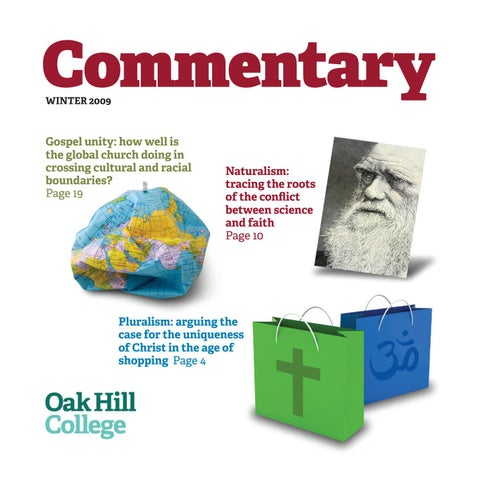 Commentary Winter 2009-10 edition by Oak Hill College - issuu