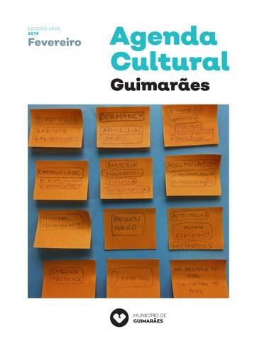 bb8127f77f4d6 EDIÇÃO X XIX 2019. Fevereiro. Agenda Cultural Guimarães