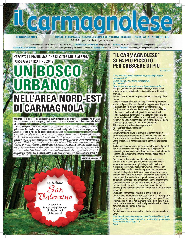 Il Carmagnolese Febbraio 2019 by Redazione Il Carmagnolese - issuu 9fc362aa7ca