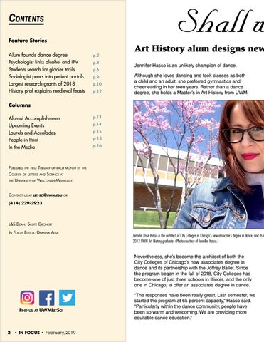 Page 2 of Shall We Dance? Art History alum designs new dance degree - and a partnership with Joffrey Ballet