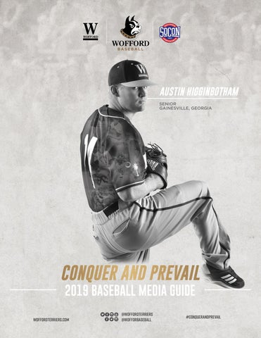 2019 Wofford Baseball Media Guide by Wofford Athletics - issuu