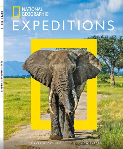 National Geographic Brochure 2019/2020 by Fred  Olsen Travel - issuu