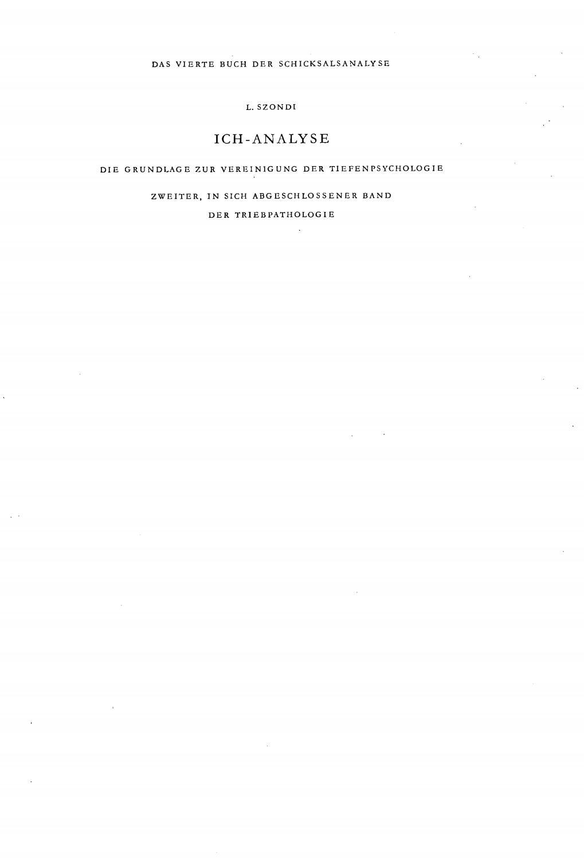 Abwehrmechanismen Freud Beispiele szondi ich-analyse 1. teilszondi institut - issuu