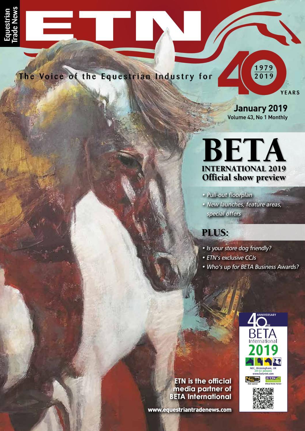 3cd05ab4c67ac ETN (Equestrian Trade News) – January 2019 by ETN (Equestrian Trade ...