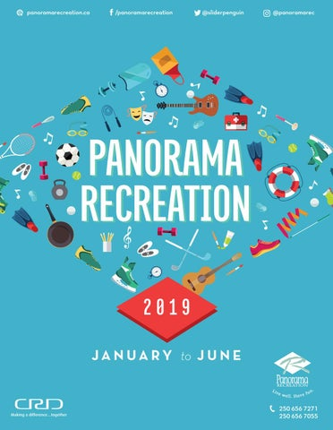 9b30e0226975 Panorama Recreation Winter Spring 2019 Brochure by Panorama ...
