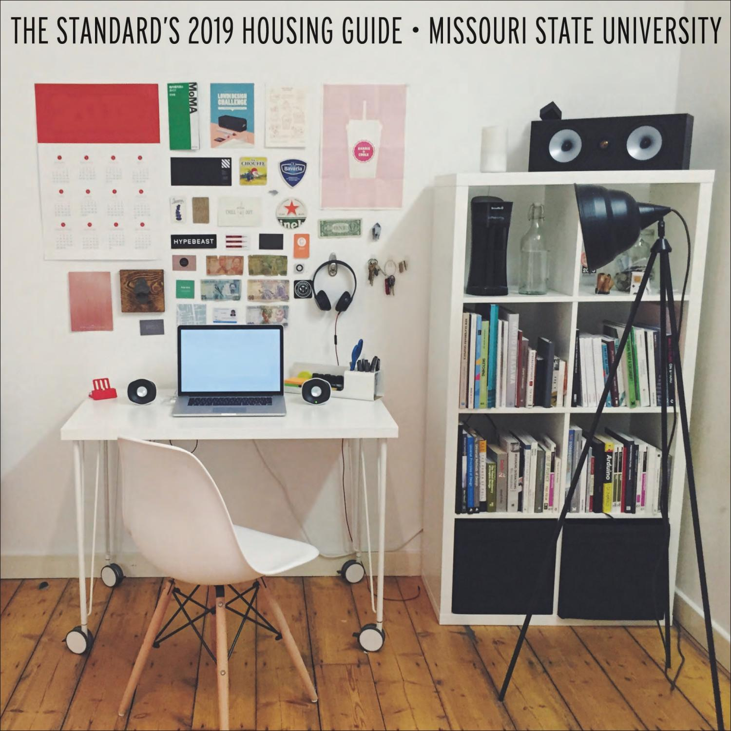 The Standard S Annual Housing Guide By The Standard Missouri State University Issuu