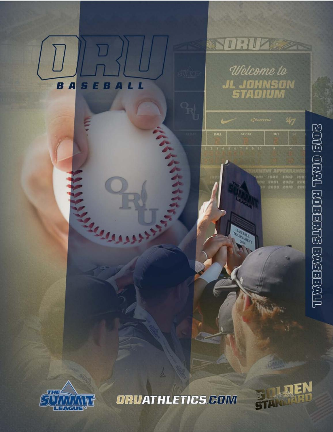 f4a66d35503a56 2019 ORU Baseball Media Guide by ORU Athletics - issuu