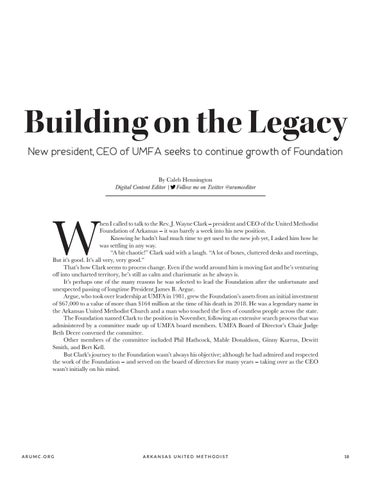 Page 19 of Building on the Legacy