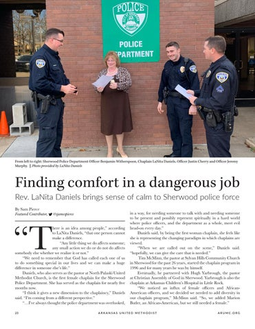 Page 24 of Finding comfort in a dangerous job