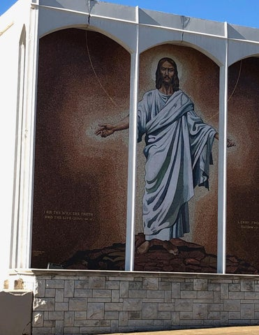 Page 28 of First UMC Hot Springs restores historice downtown Jesus mosaic
