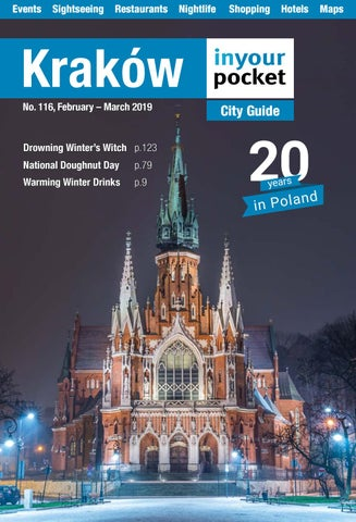 Ogromny Krakow In Your Pocket - February - March 2019 by Poland In Your IO31