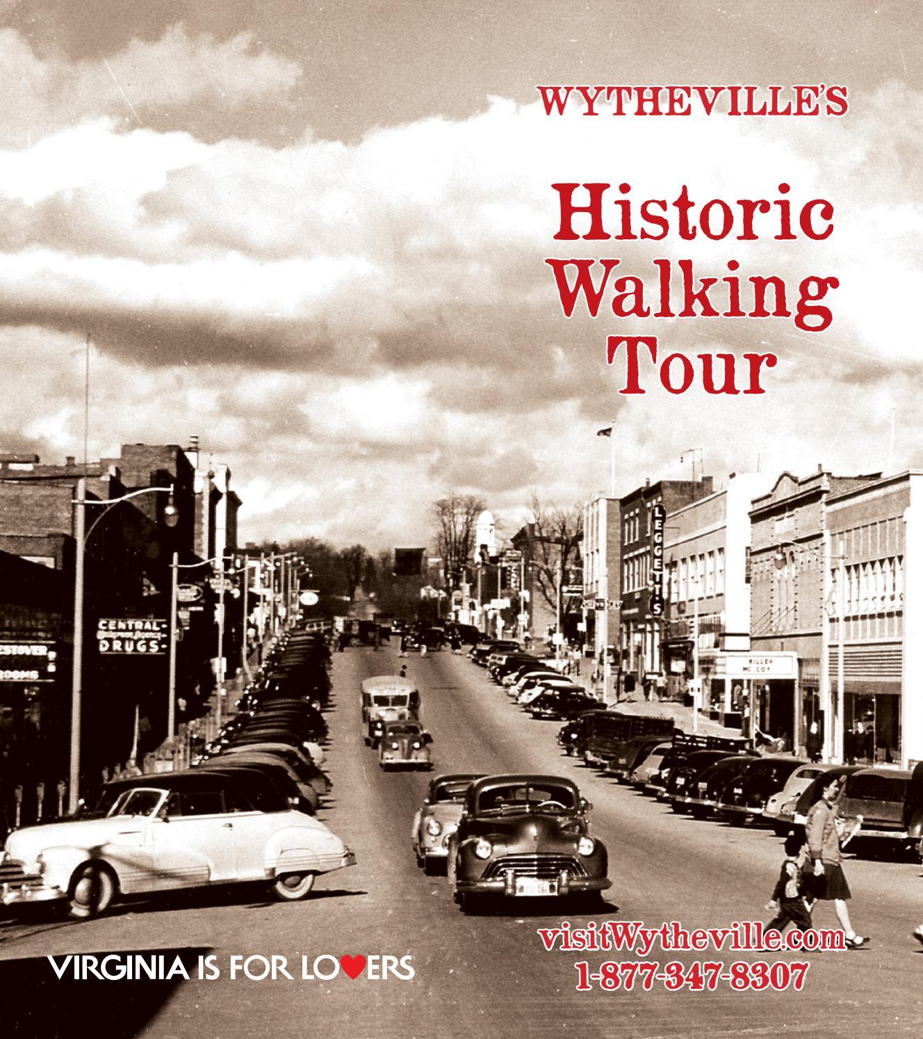Wytheville's Historic Walking Tour by Stallard Studios Publishing